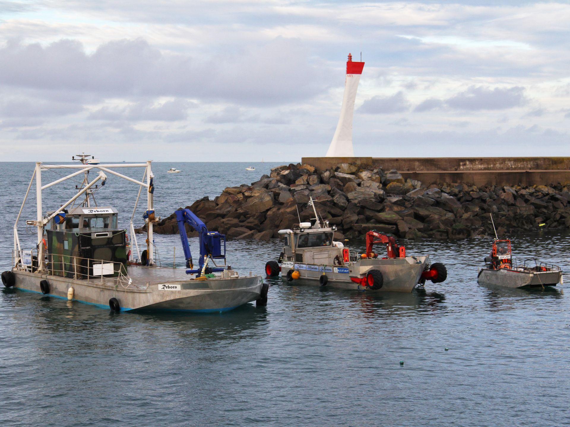 La flotte de Celtic Marine Services